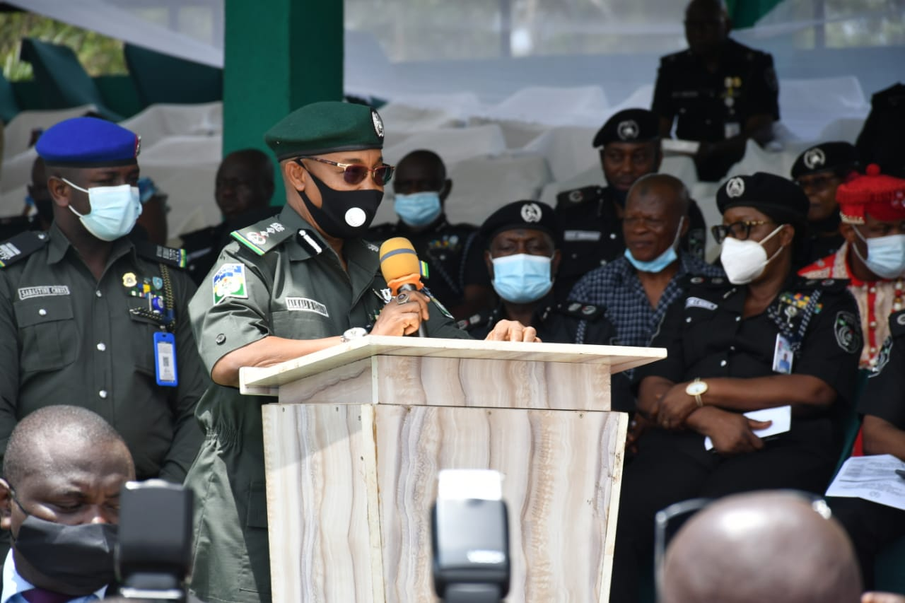 SOUTH-EAST SECURITY: IGP FLAGS-OFF 'OPERATION RESTORE PEACE' IN ENUGU