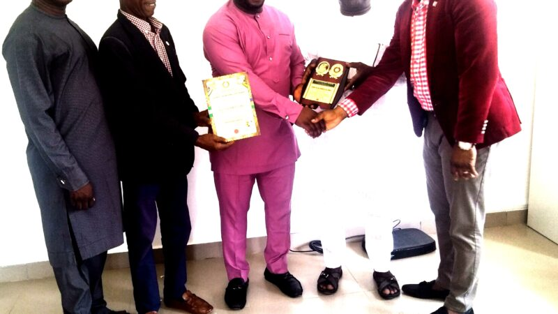 ASP OLAYINKA OLOKO RECEIVES PSM PLAQUE OF HONOUR