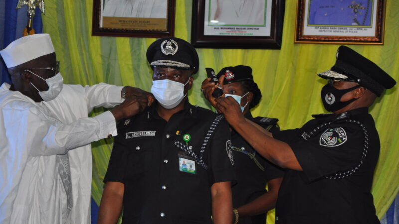 IGP ANNOUNCES NEW NPF MANPOWER DEVELOPMENT POLICY…AS 24 AIGs ARE DECORATED WITH THEIR NEW RANK