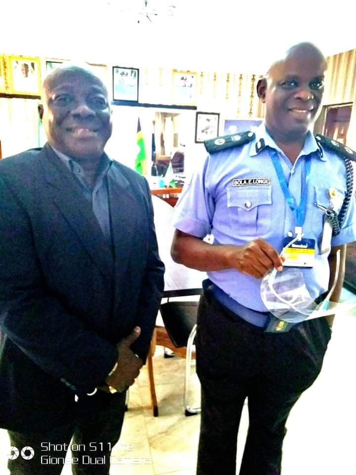 CONGRATULATIONS TO A QUINTESSENTIAL DETECTIVE, ASSISTANT INSPECTOR GENERAL OF POLICE, BOLA LONGE