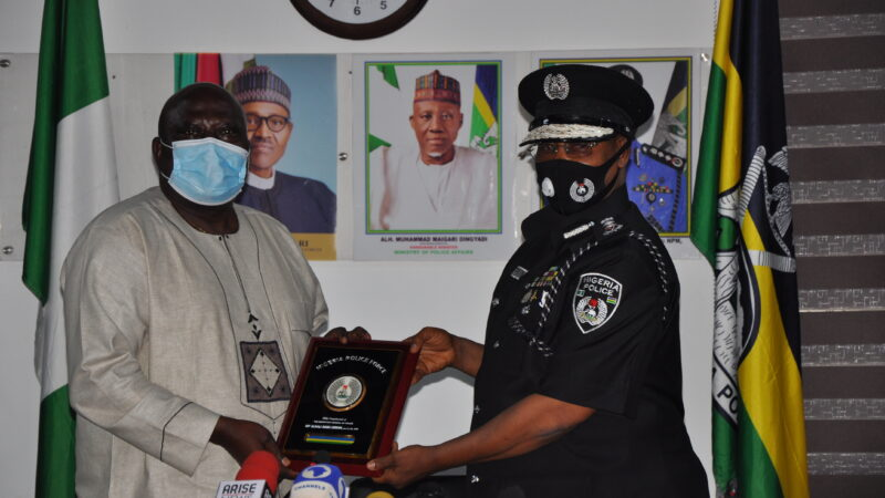 IGP ALKALI, HISSIERRA LEONEAN COUNTERPART HOLD BILATERAL POLICING ENGAGEMENT
