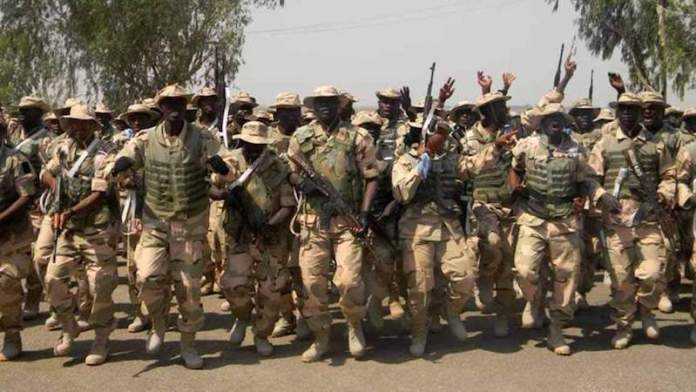 Surrender When There's Still Time, Military Warns Terrorists
