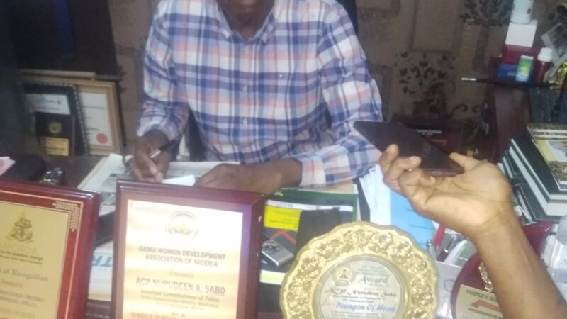 SUPPORT THE POLICE, SECURITY IS OUR COLLECTIVE RESPONSIBILITY – FCT METROPOLIS AREA COMMANDER, ACP NURUDEEN SABO